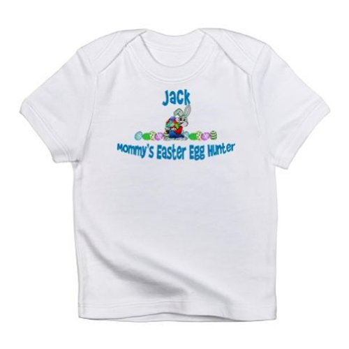 Personalized Mommy'S Easter Egg Hunter Mom Easter Bunny Shirt For Baby, Infant, Toddler, And Kids - Customize With Any Boy Or Girls Name, Birthday Present Custom Gift Collection front-936375