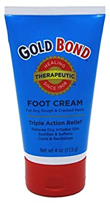 Gold Bond Foot Cream Triple Action Relief 4oz (Pack of 3)