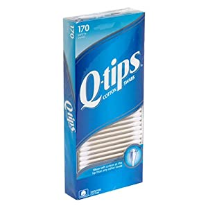 Qtips Cotton Swabs  170ct.