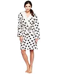 Hooded Mickey Mouse Dressing Gown