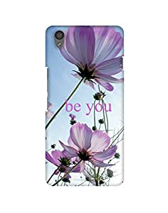 Mobifry Back case cover for One Plus X Mobile ( Printed design)