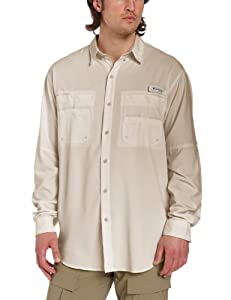 Columbia Mens Tamiami II Long Sleeve Shirt (Tall) by Columbia