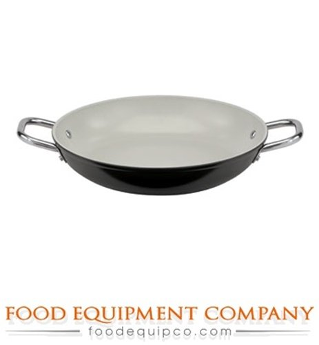 Paderno World Cuisine 12-5/8-Inch Ceramic Coated Paella Pan