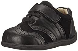 See Kai Run Bennett Wingtip (Toddler), Black, 4 M US Toddler