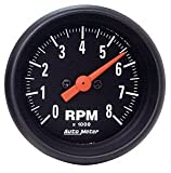 Auto Meter 2699 Z-Series Black 3-3/8