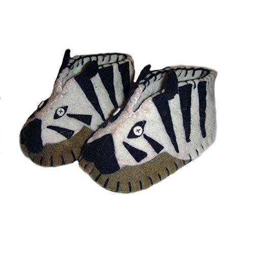 Silk Road Bazaar Zootie, Zebra, 6-12 Months - 1