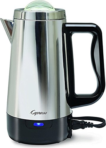 Capresso 403.05 8 Cup Perk Coffee Maker, Metallic (8 Cup Percolator compare prices)