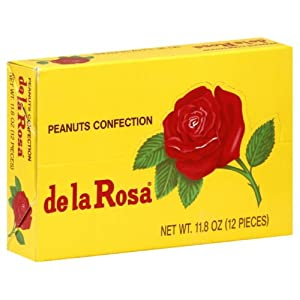 De La Rosa Mazapan, Small Box, 12 Piece,1-Ounce