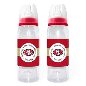 San Francisco 49ers Baby Bottles - 2 Pack