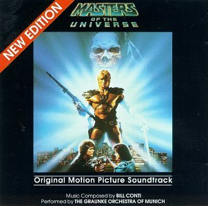 Original album cover of Masters Of The Universe: Original Motion Picture Soundtrack by Bill Conti