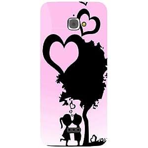 Casotec Sweet Love Design 3D Prited Hard Back Case Cover for InFocus M350