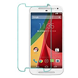 iKraft Premium 2.5D Curved Edge Tempered Glass Screen Protector for Motorola Moto G3
