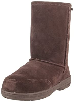 BEARPAW Women's Meadow Short 604W Boot,Chocolate,5 M US