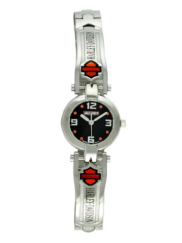 Harley-Davidson® Bulova® Women's Watch. Luminous. Bar & Shield insert. WR 50m/165ft. 76L149