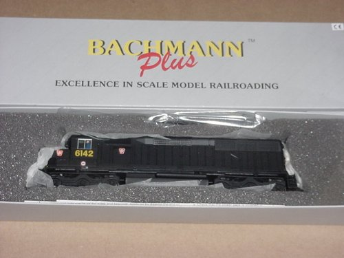 WALTHERS, BACHMANN PLUS, HO SCALE, DIESEL, EMD, SD45, POWERED LOCOMOTIVE, PENNSYLVANIA, #6142