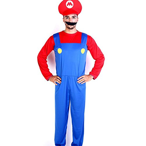 Harry Shops Super Mario Bros Holiday Halloween Cosplay Costume