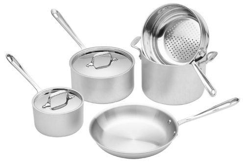 All-Clad Master Chef 2 8-Piece Cookware Set