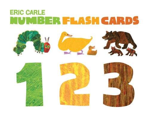 The World of Eric Carle™ Eric Carle Number Flash Cards - Chronicle Books