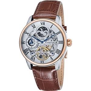 Thomas Earnshaw - Reloj de pulsera hombre, color marrón