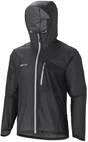 Marmot Men's Essence Waterproof Jacket - Black, Medium