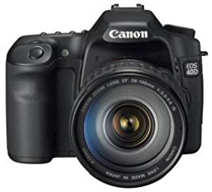 Canon EOS 40D 10.1MP Digital SLR Camera with EF 28-135mm f/3.5-5.6 IS USM Standard Zoom Lens