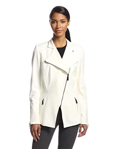 Zelda Women's Regis Ponte Knit Asymetrical Jacket