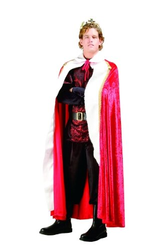 Adult Red Kings Robe Costume