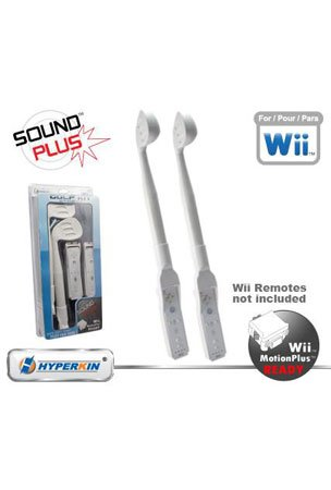 Nintendo Wii Golf Kit with Sound Plus and Compatible with Wii Motion Plus- White