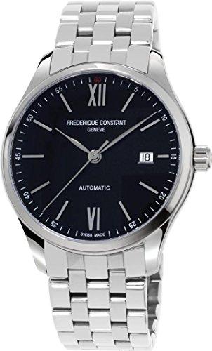 Frederique Constant Geneve Classic Index FC-303BN5B6B Reloj Automático para hombres Legibilidad Excelente