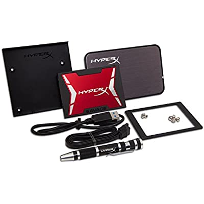 Kingston HyperX Savage 960GB SSD SATA 3 2.5 (7mm height) Solid Sate Drive Bundle Kit (SHSS3B7A/960G)