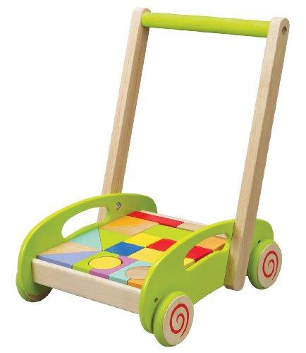Hape - Fill'n Build Block Cart