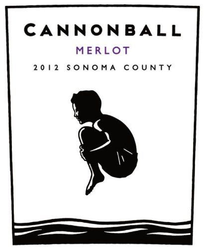 2012 Cannonball Sonoma County Merlot 750 Ml