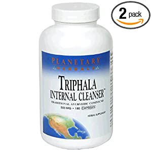 Click to buy Healthy Blood Pressure: Planetary Herbals Triphala, Traditional Ayurvedic Purifier, 500 mg, 180 capsules  from Amazon!