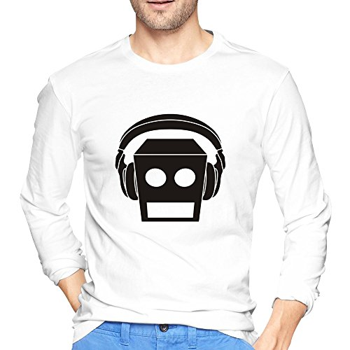 Belva LMFAO Beat Rock El Robot Logo Unique Men's Long Sleeve T-shirt (Lmfao Robot compare prices)