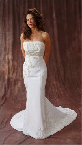 #2402 Darius Designs: Custom Bridal Gowns - Strapless