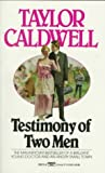 Testimony of Two Men (044920572X) by Caldwell, Taylor