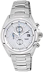 Citizen Eco-Drive Analog White Dial Mens Watch - CA0190-56B