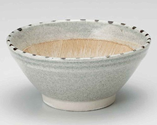 Dots Tokusa 9.5cm Set of 2 Mortars Grey Ceramic Made in Japan