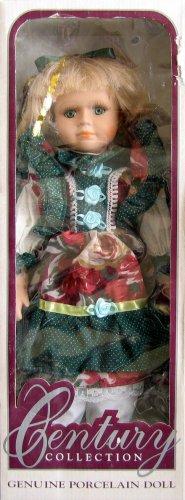 Century Collection - Genuine Porcelain Doll w/ Blond Hair - Green Eyes - Buy Century Collection - Genuine Porcelain Doll w/ Blond Hair - Green Eyes - Purchase Century Collection - Genuine Porcelain Doll w/ Blond Hair - Green Eyes (Century Collection Genuine Porcelain Doll, Toys & Games,Categories,Dolls,Porcelain Dolls)