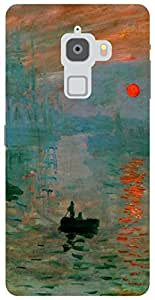 The Racoon Lean Impression, Sunrise hard plastic printed back case / cover for Letv Le Max