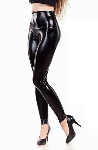elomoda-latex-look-leggings-hoher-bund-schwarz-glanz-gr-36-bis-3xl-m-38