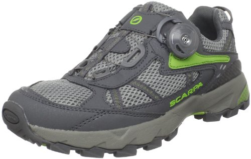 Scarpa Women's Corsa Boa Trail Runner,Pewter/Green,37 M EU (6 M US Women's)