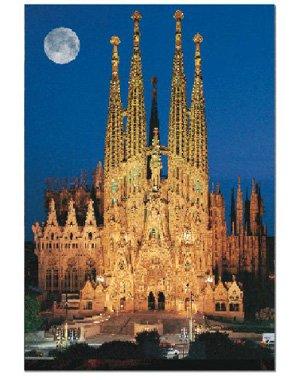Cheap John N Hansen Sagrada Famila, Barcelona, Spain (1000 pc puzzle) (B000MRKMZO)