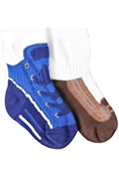Stride Rite Boys Infant Socks Play Shoe 2pairs