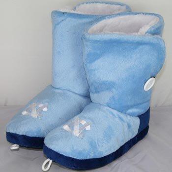 Cheap North Carolina Tarheels Womens Team Color Button Boot Slippers (B006KYRPEE)