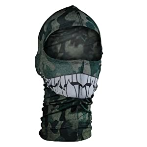 ZANheadgear Nylon 'Camo Print with Teeth' Design Balaclava (Multicolor, One Size) at Sears.com