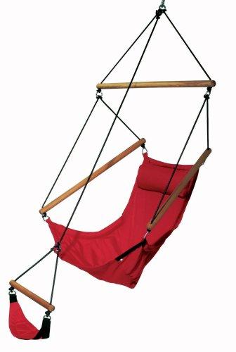 Amazonas Swinger AZ-2030520 Amaca, portata 120 kg, colore: Rosso