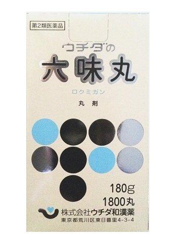 【第2類医薬品】ウチダの六味丸 180g