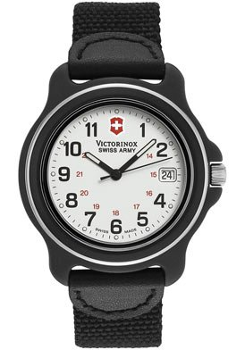 Victorinox Swiss Army Men's Original Leather Accented Watch #24220