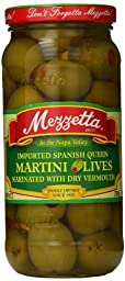 Mezzetta Imported Spanish Queen Martini Olives, 10 Ounce